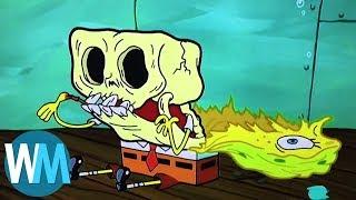 Top 10 Times SpongeBob SquarePants Went Too Far