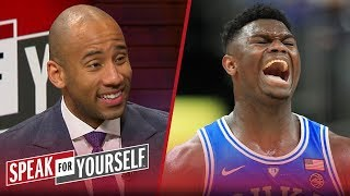 Dahntay Jones says Zion shouldn