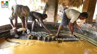 Traditional Jaggery Making   MAKING OF GURR   VILLAGE FOOD FACTORY