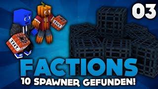 10 SPAWNER GEFUNDEN! - MINECRAFT FACTIONS #03 | DieBuddiesZocken