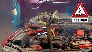 Turbo selbst nachgerüstet - Gartenschlauch als Ölleitung | Dumm Tüch
