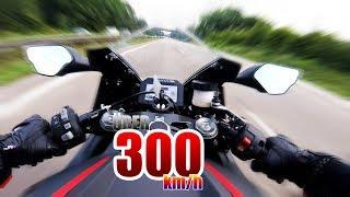 MEIN ERSTES MAL ÜBER 300km/h SCHALTHEBEL WEGGEFLOGEN BEINAHE UNFALL | Honda CBR 1000 RR Fireblade