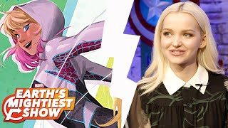 Dove Cameron Turns Web Warrior, Marvel Rising and more! | Earth's Mightiest Show