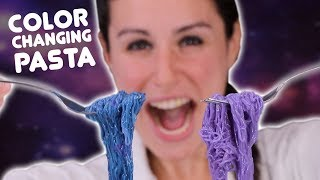 DIY COLOR CHANGING PASTA