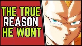 The Dangerous Reason Vegeta Will NEVER use Super Saiyan 3