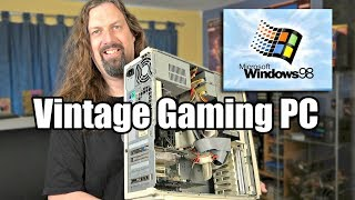 Building a NEW (OLD) Windows 98 Gaming PC! - Hardware, Accessories & Games