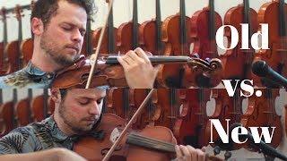 18th century violin vs. 2017 violin - Canon in D