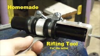 Homemade Rifling Attachment for Lathe (Part 1)