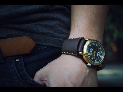 Часы на ремешке своими руками