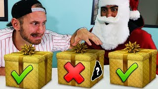 DONT Open the Wrong Punishment Present!! vs TEAM EDGE