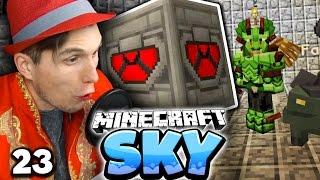 UNSER ERSTER BOSSKAMPF! & MEIN NEUES HAUSTIER! ✪ Minecraft Sky  #23   Paluten