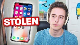 MY IPHONE X WAS STOLEN!! :(