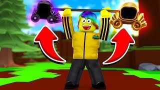 I LIFTED $100,000,000,000 ROBUX WORTH OF RARE DOMINUS (Roblox Dominus Lifting Simulator)