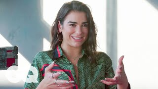Dua Lipa On Her Collaboration With Coldplay