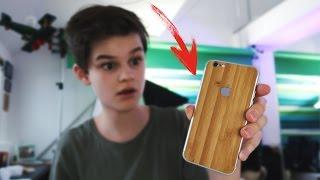 Ein iPhone aus ECHTEM HOLZ? | Oskar