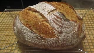 Kvaskový chlieb Co se povede  (video recept) / Sourdough Bread Video Recipe