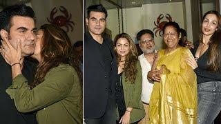 Malaika & Arbaaz Keep Distance At A Dinner Party | Bollywood News
