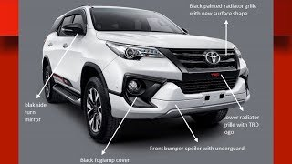 2018 Toyota Fortuner interior | exterior | drive | Price | specs | india | australia | top 10