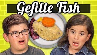 KIDS vs. FOOD - GEFILTE FISH