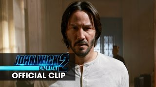 John Wick: Chapter 2 (2017 Movie) Official Clip – 'Again Soon'