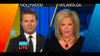 Nancy Grace walks off on Billy Bush