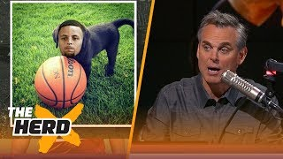 Steph Curry is the Teflon puppy of the NBA | THE HERD