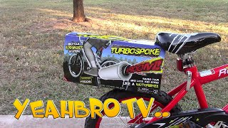TurboSpoke Special Unboxing and Toy Review From TurboSpoke Bike Exhaust System