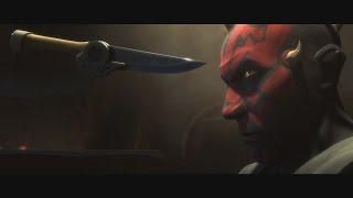 Star Wars: The Clone Wars - Darth Maul, Savage & Death Watch vs Bounty Hunters [1080p]