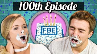100TH EPISODE! - ICE CREAM CAKE CHALLENGE! | College Kids Vs. Food