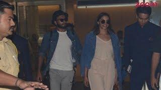 Lovebirds Ranveer Singh And Deepika Padukone Return To Mumbai | Bollywood News