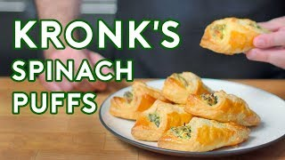 Binging with Babish: Spinach Puffs from The Emperor