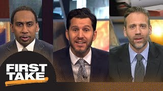 Did Jerry Jones concede to Roger Goodell? Will Cain joins First Take to debate | First Take | ESPN