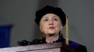 Clinton roasts Trump, compares him to Nixon