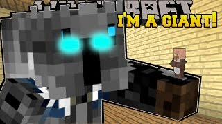 Minecraft: I AM A GIANT!! - A GIANT QUEST - Custom Map