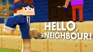 Minecraft - HELLO NEIGHBOUR | EINBRUCH BEIM NACHBAR!!
