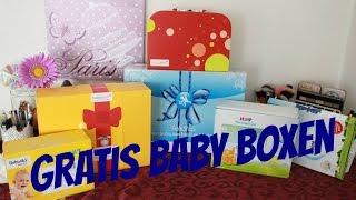 Gratis Babyboxen Video -  Unboxing