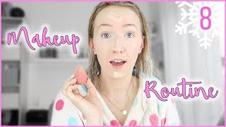 MEINE MAKEUP ROUTINE, wenn es SCHNELL gehen muss - Vlogmas Tag 8 - Kathi2go