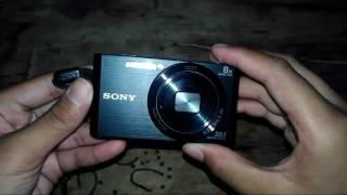Unboxing Sony DSC W830 Indonesia