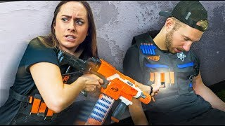 NERF Grab the Tags Challenge!