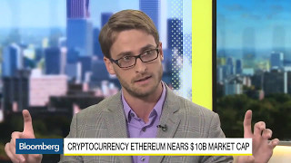 Bloomberg talking about Bitcoin and Ethereum