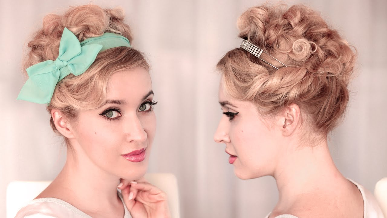 Свадебная прическа своими руками на средние волосы видео