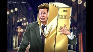 Gold Sales Spike During Crypto Market Crash, Highlighting Inverse Correlation