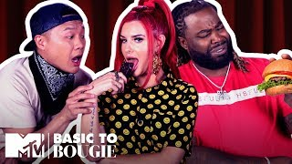 Open Wide! It's Burgers & Chocolate ft. Justina Valentine   Basic to Bougie Season 2   MTV