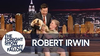 Jimmy Gets Attacked by Robert Irwin