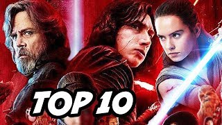 Star Wars The Last Jedi TOP 10 WTF Questions - Snoke, Luke Skywalker, Rey