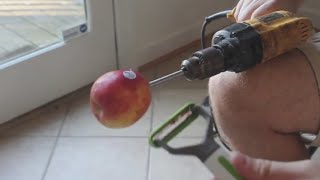 How to Peel an Apples the Fastest Way