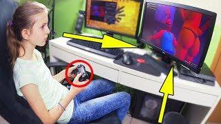 MEINE SCHWESTER ZOCKT GTA 5 !!!