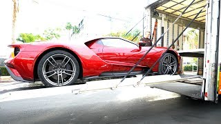 2017 Ford GT Delivery