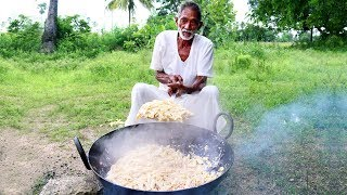 Pasta Recipe | Yummy White Sauce Pasta Recipe by Our Grandpa Cooking For Orphan Kids