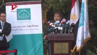 أحمد زويل يكشف سبب قبول أقل عدد من الطلاب بالجامعة.. ويكرم المتقدمين